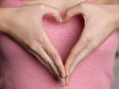hands in the shape of a heart photo