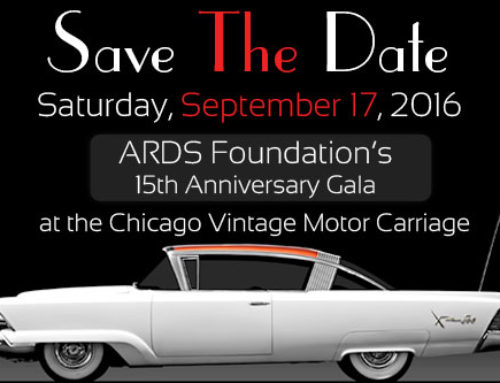 Save the Date!  ARDS Foundation's 15th Anniversary Gala