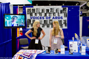 Eileen and Dana at ARDS Booth at ATS Conference 2018