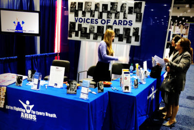 ARDS Booth at ATS Conference