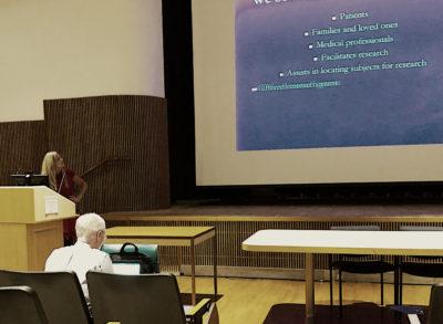 Eileen Rubin, President of ARDS Foundation Speaker at the 11th Annual ICU Physical Medicine & Rehabilitation