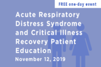 ARDS and Critical Illness Recovery Patient Education