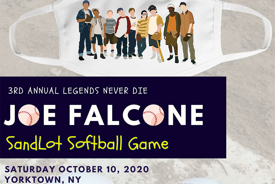 Joe Falcone Sandlot Softball Game Fundraiser